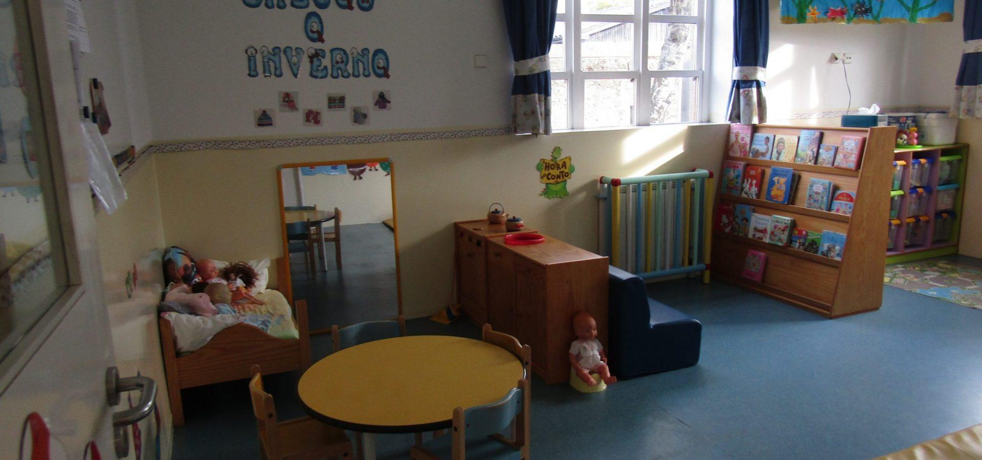 Sala de 2 anos da Creche