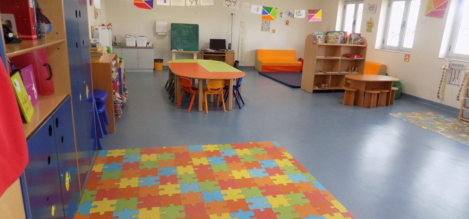 Sala de atividades do Jardim de Infância